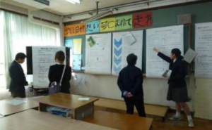 白河総合支援学校実践報告会の写真