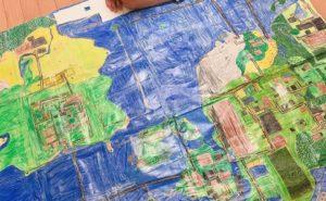 地図製作中