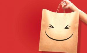 買い物バッグの写真