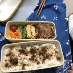 生徒が作ったお弁当の写真